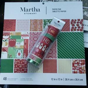 Martha Stewart Crafting Bundle - Christmas
